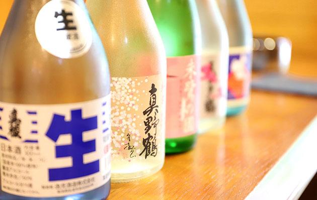 おいしい米と清らかな水から生まれる日本酒